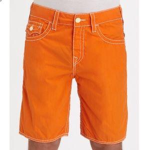 True Religion Big T Board Shorts Mens 34